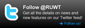 Follow @RUWT on Twitter